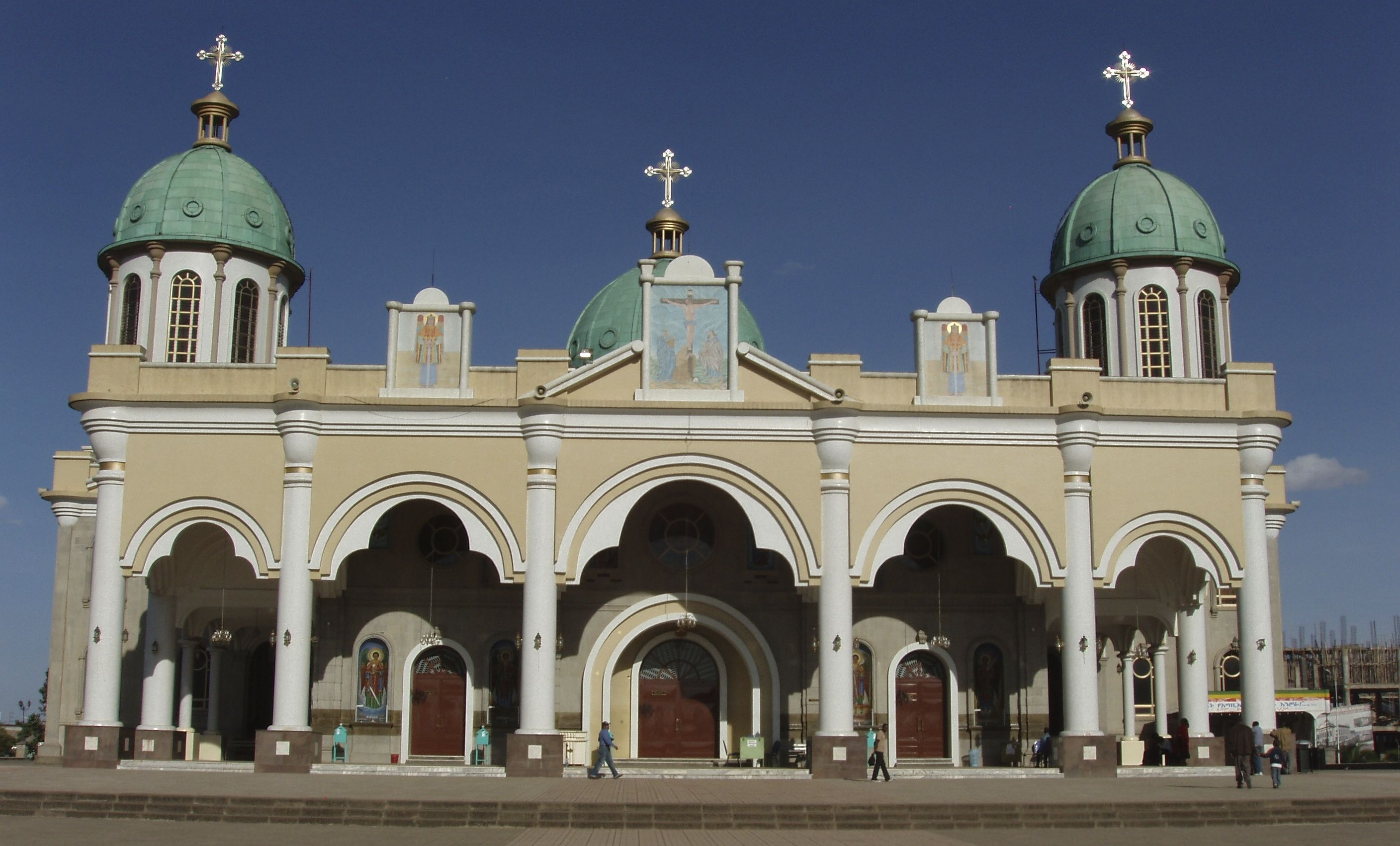 This Is One Of The Many Ethiopian Orthodox Churches Located