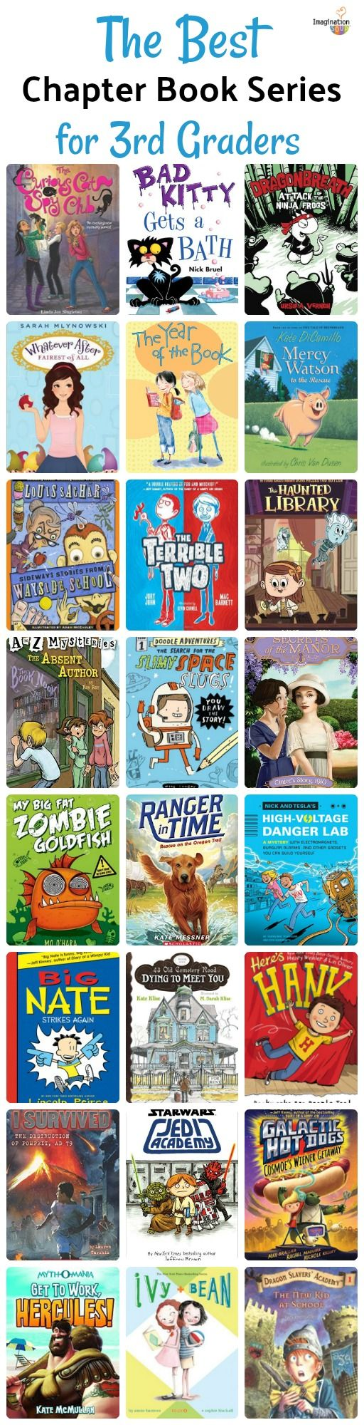 The Best Book Series 3rd Graders Love To Read Chapter Books Books 3rd Grade Books