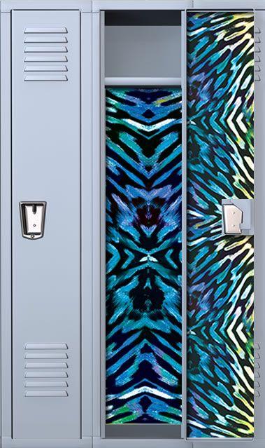 Wild Tiger School Locker Wallpaper