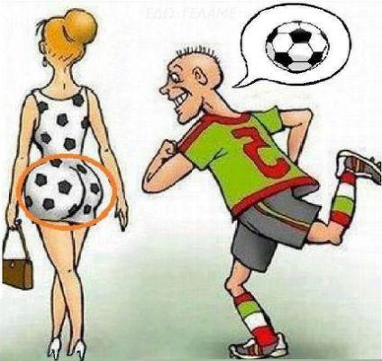 Funny Cartoon Footballer Cartoon Grappige Plaatjes Pinterest