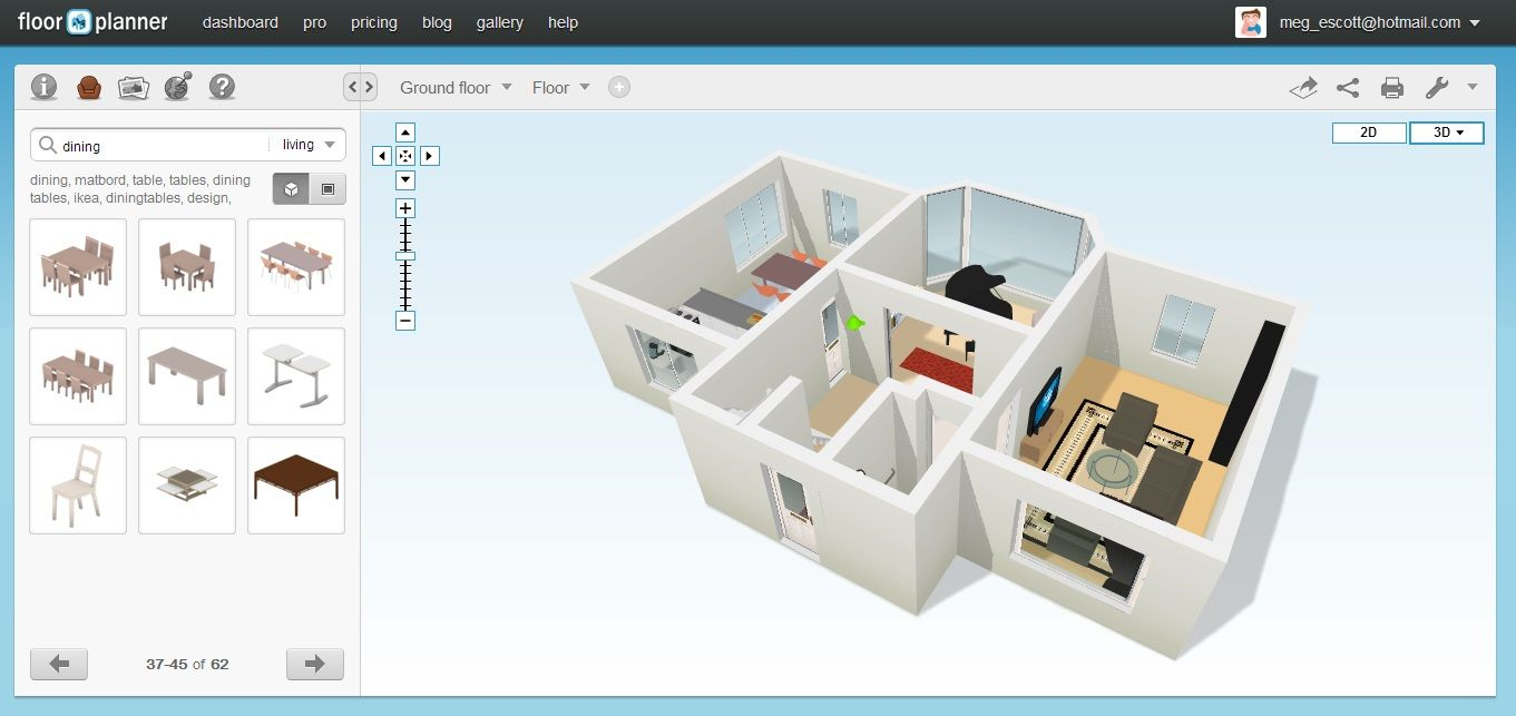 Free App For Drawing House Plans In 2020 Drawing House Plans House Plans Free Floor Plans