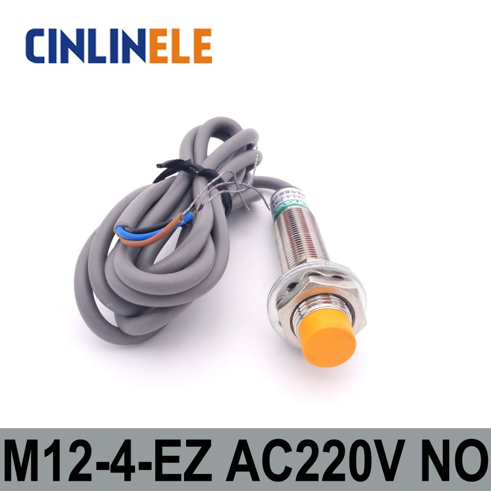 M12 Lj12a3 4 J Ez 4mm Induction Ac 2 Wire No Metal Sensor Inductive Wiring A Light Switch Proximity Screen Shield Type Lj8a3 Affiliate