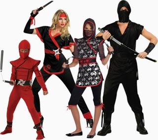 Family Ninja Halloween Costumes.Pin On From Our Blog