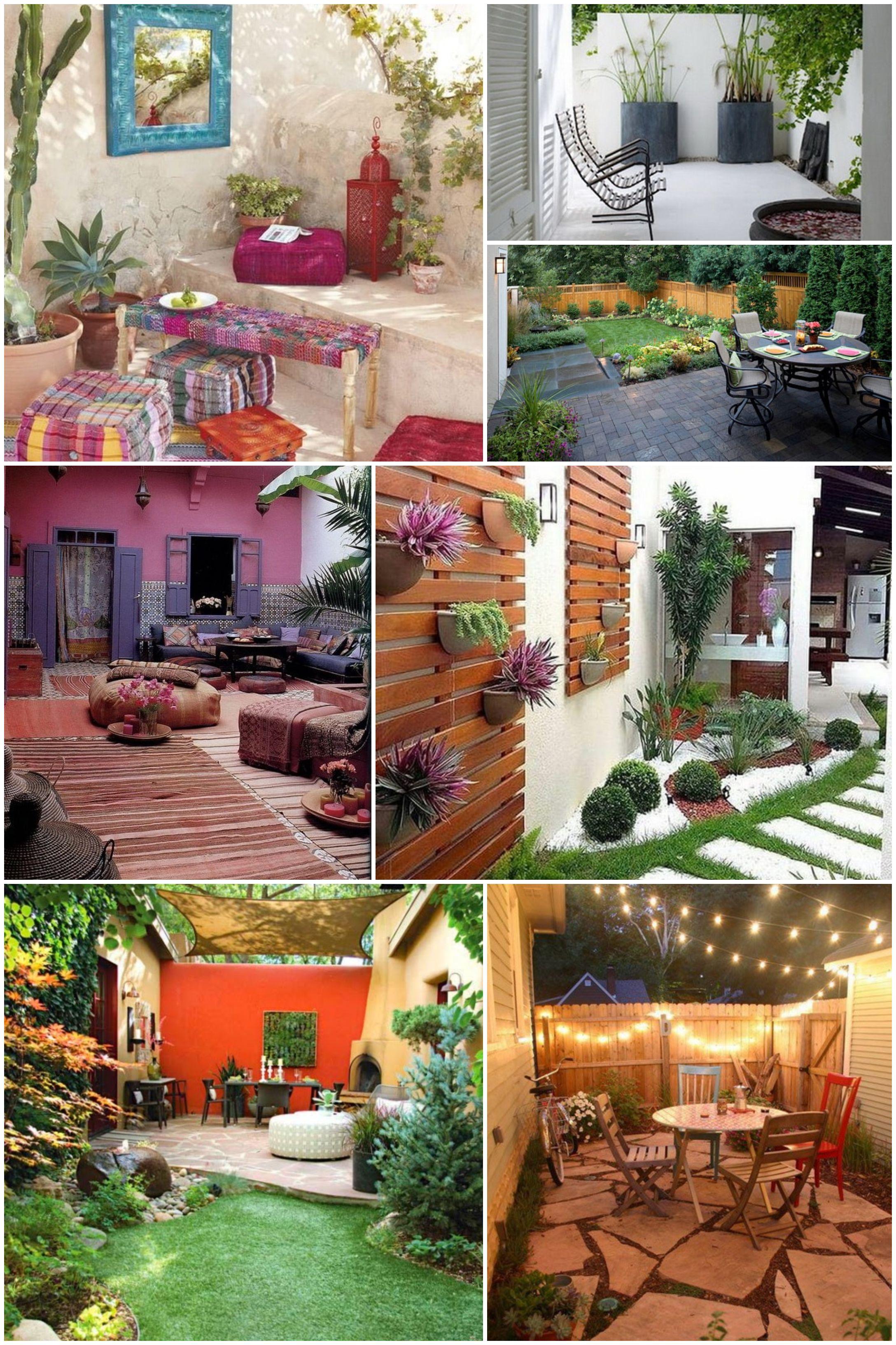 Ideas Para Patios Pequenos Decoracion De Jardines Pequenos Decoracion Jardines Pequenos Diseno De Patio Decorar Patio Pequeno