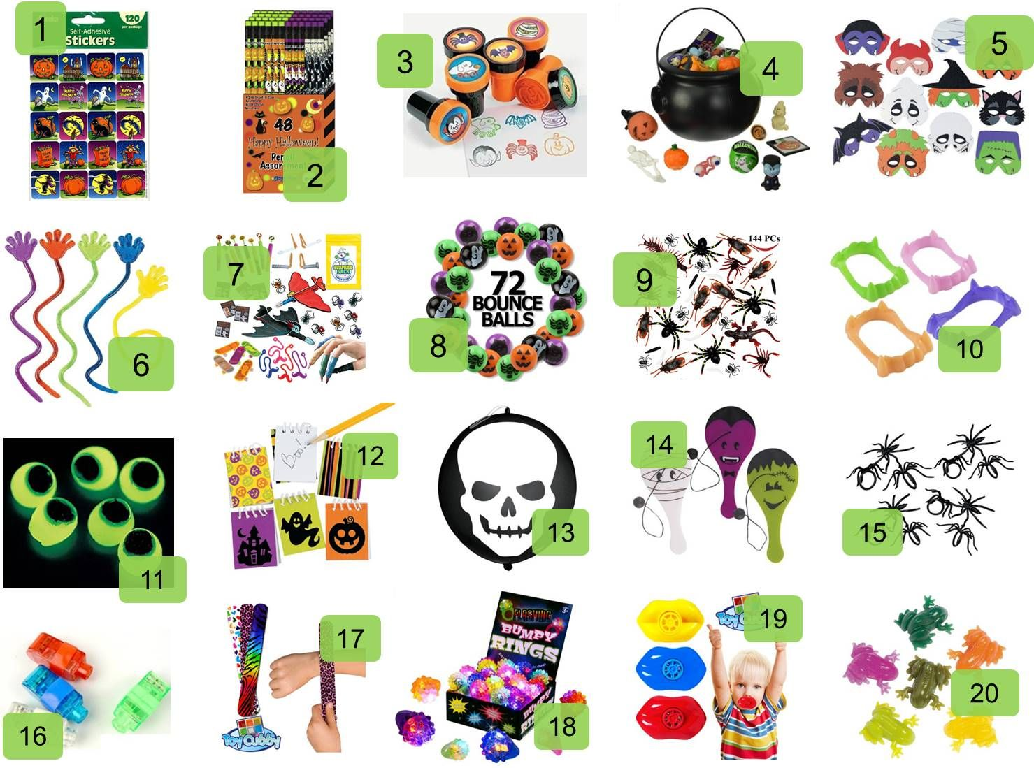 20 Creative Non-Candy Halloween Treats | Frugal, Frugal living and ...