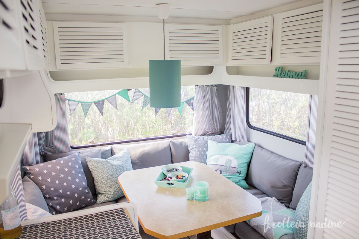 wohnwagen make over neu hugo unser neuer wohnwagen zieht ein frollein nadine. Black Bedroom Furniture Sets. Home Design Ideas