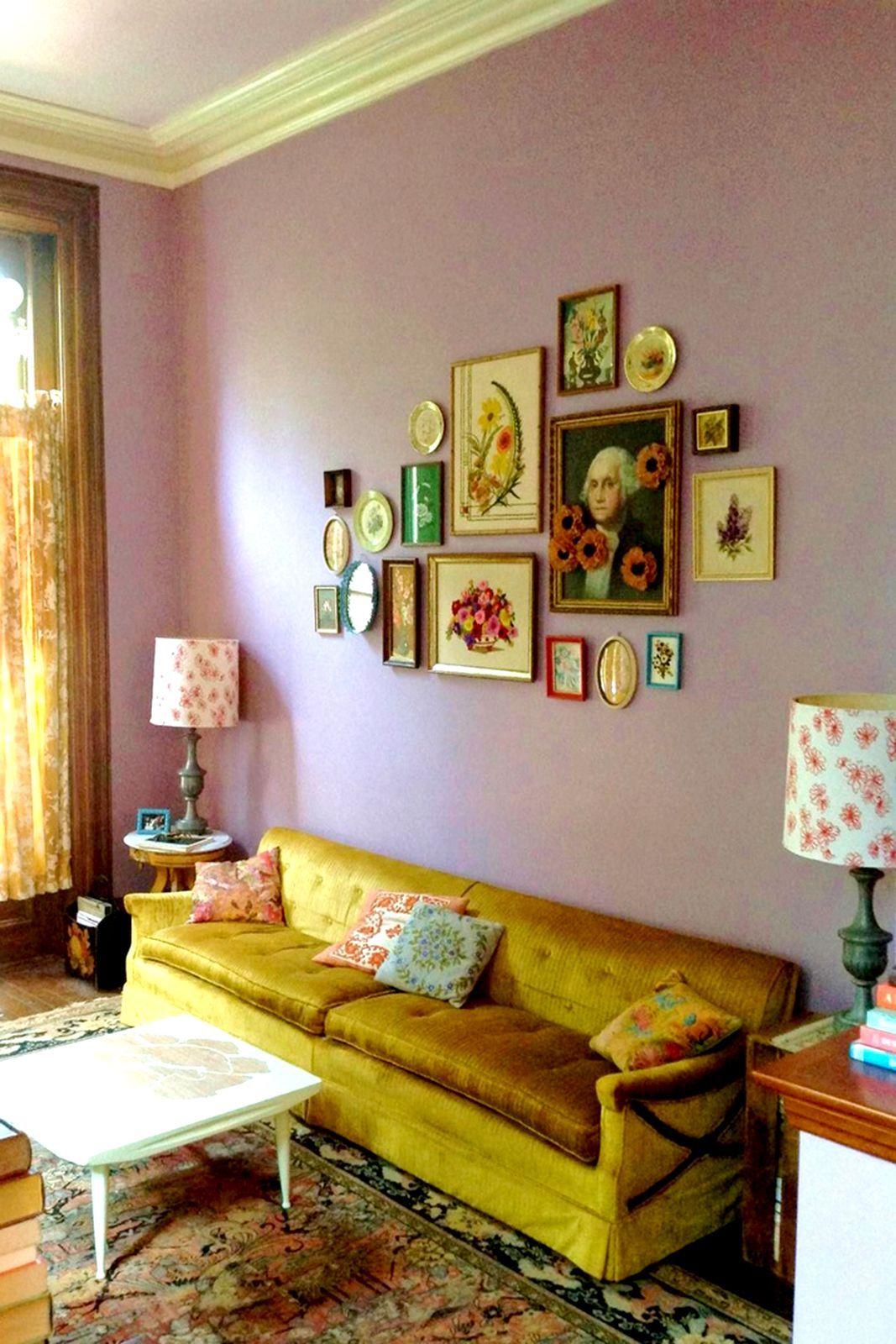 Innenarchitektur wohnzimmer lila interior wie bei oma  einrichtungshacks für die gemütlichste stube