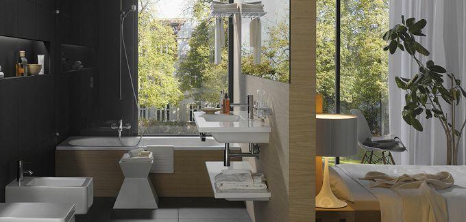 1000 images about salle de bain ouverte on pinterest - Salle De Bain Ouverte Sur Chambre Design