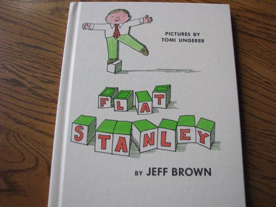 """1964 """"Flat Stanley"""" by Jeff Brown-     What great memories from a children's book-     A Book every child should have    This book is in excellent condition"""