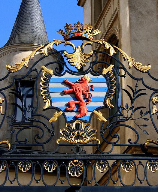 Coat of Arms Luxemburg by janneman2007, via Flickr