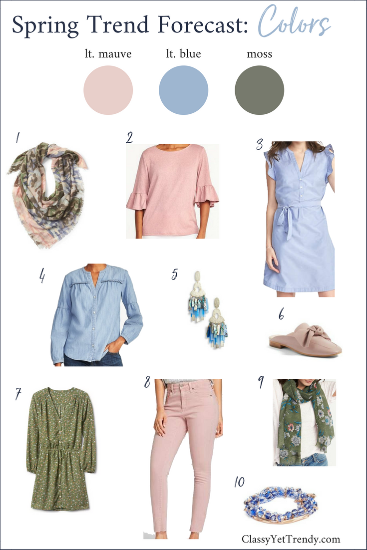 cfcd0dc1c6 Spring 2018 Trend Colors Forecast - see a few clothes