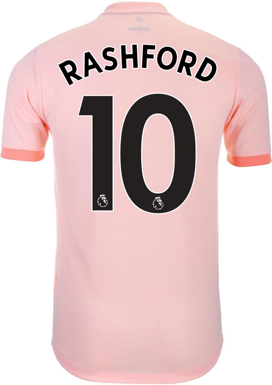 6c2992ac 2018/19 adidas Marcus Rashford Manchester United Away Authentic ...
