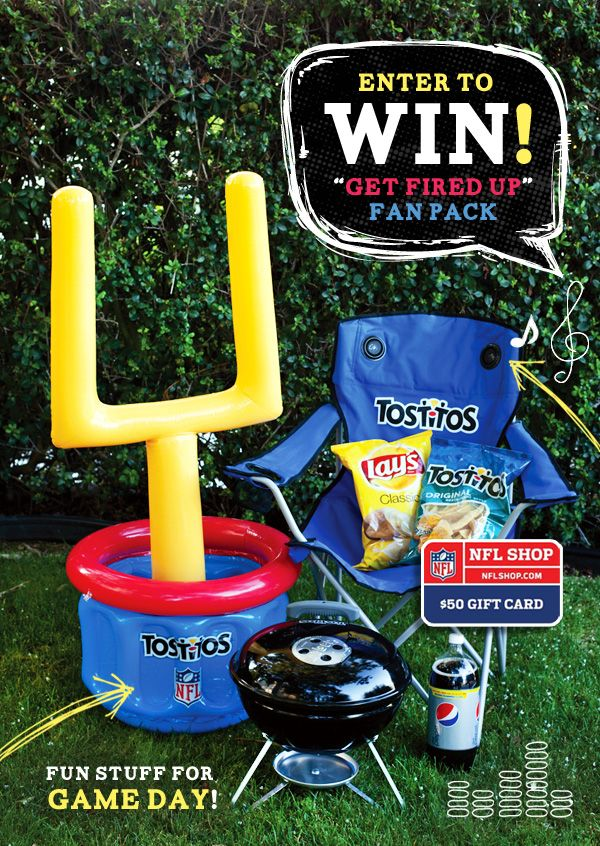 Are you a #football fan? We've got a fun #GIVEAWAY at the blog going on this week to celebrate the new season!