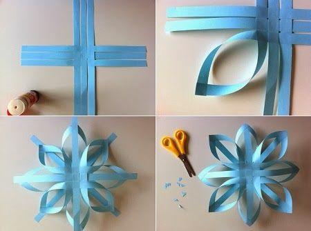 Adornos de papel para navidad for Ornamentacion para navidad