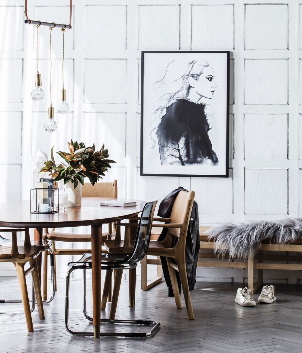 Parisian chic stunning interior styling for Real