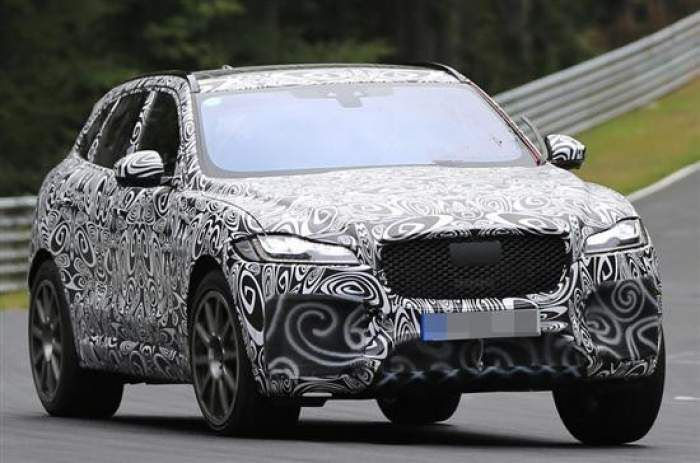2018 Jaguar F-Pace SVR Spy Photos, Price, Release Date ...