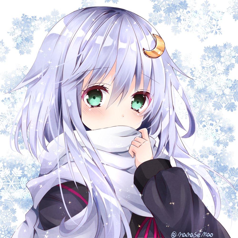 Cute winter anime girl inspiration - Winter anime girl wallpaper ...