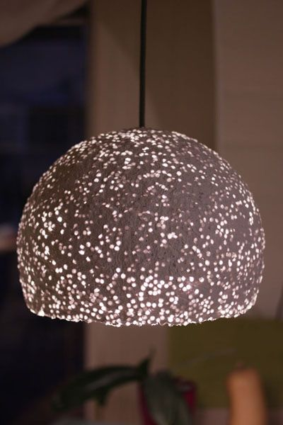 Paper Mache Pendant Light With Beads Https Www Etsy Com Listing 484111294 Paper Mache Pendant Light With Beads Pendant Lamp Shade Pendant Lamp Lamp