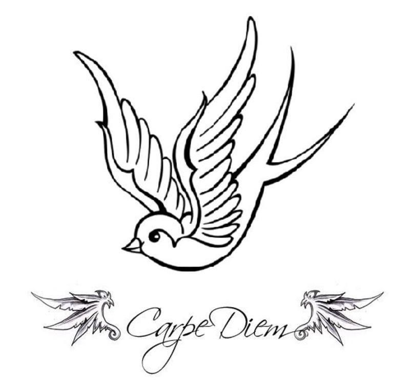 Carpe Diem Sparrow Tattoo Pictures At Checkoutmyink Com Sparrow Tattoo Sparrow Tattoo Design Picture Tattoos