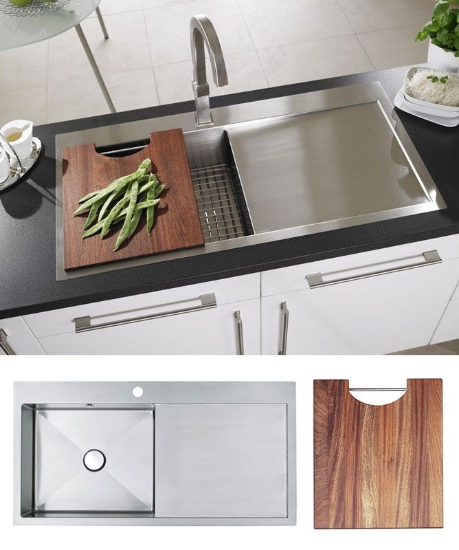 Great Astracast VANTAGE 1.0 Stainless Steel Sink FREE CHOPPING BOARD