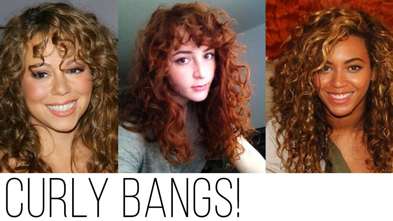 Types Of Bangs For Curly Hair  Curly hair styles, Curly bangs