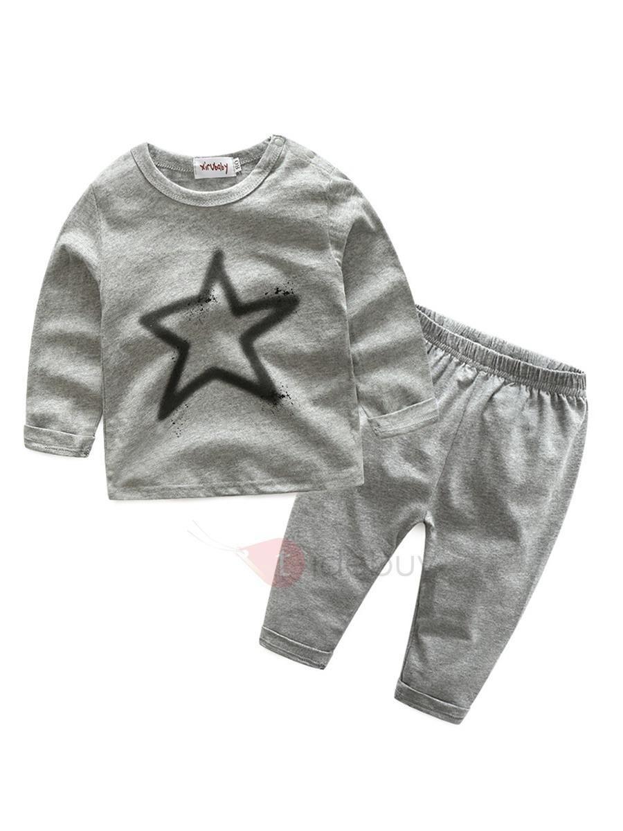 Tidebuy tidebuy pure cotton long sleeve star pattern babys