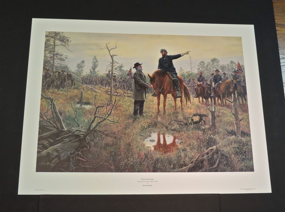 Mort Kunstler - The Last Meeting - Collectible Civil War Print in Art, Art from Dealers & Resellers, Prints | eBay