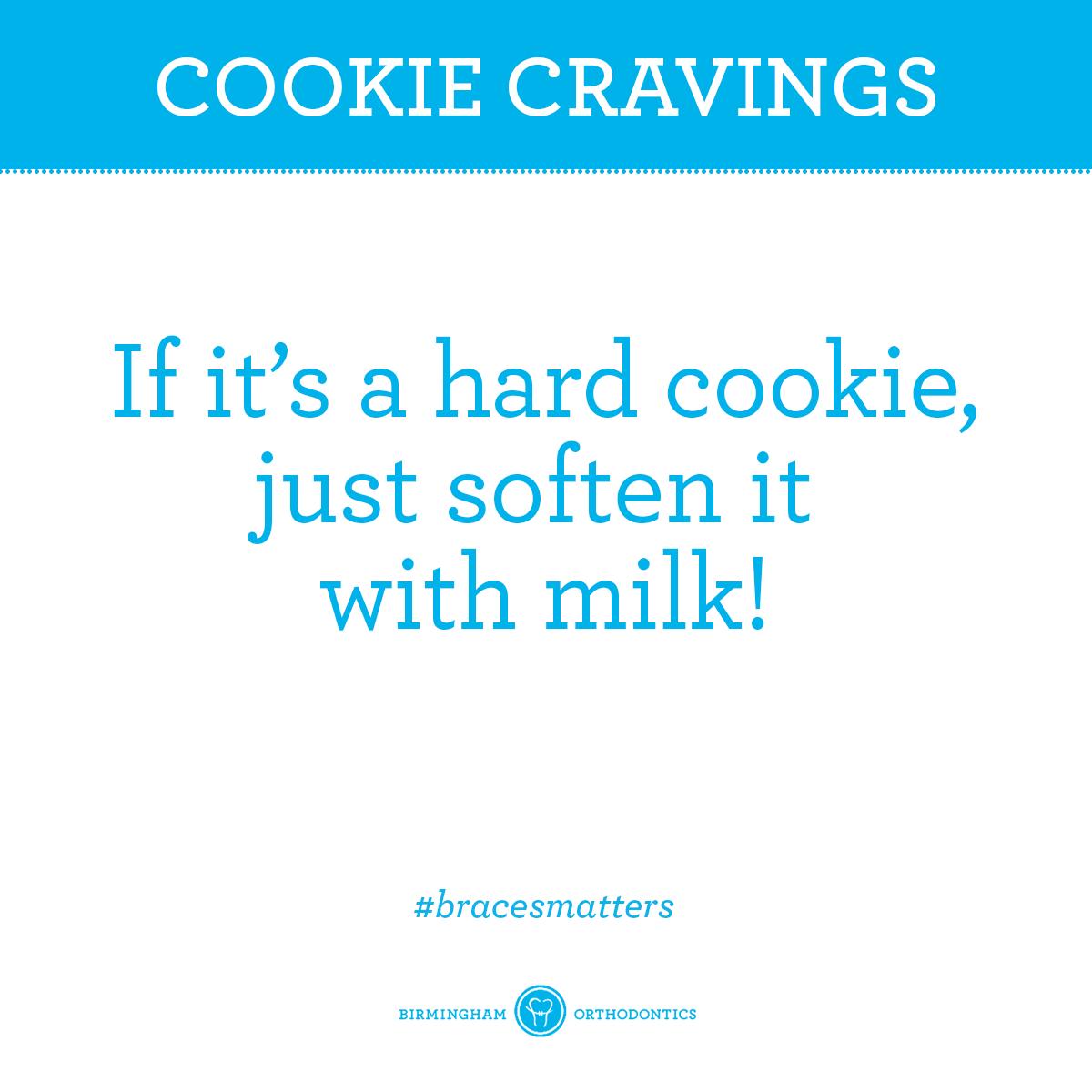 Perhaps Santa's cookies? Braces tips, Getting braces