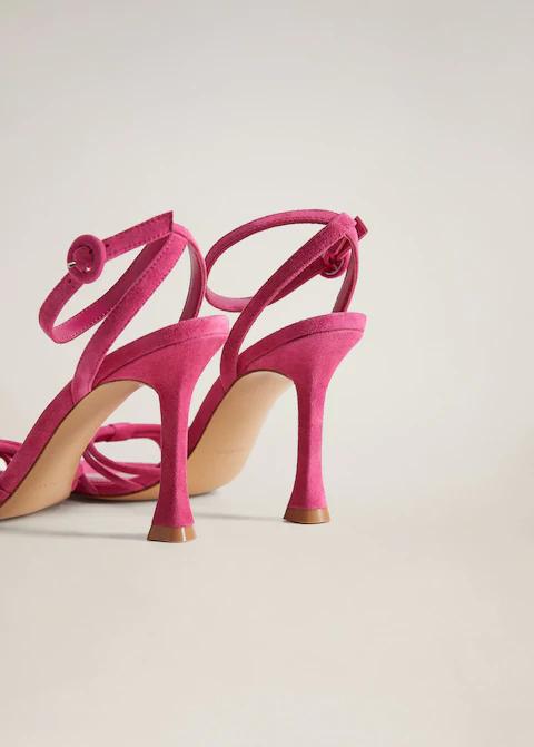 Skorzane Sandaly Z Paskow Kobieta Mango Polska Leather Strap Sandals Strap Sandals Women Strap Sandals