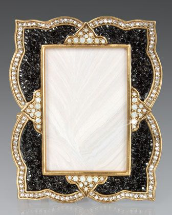 Scalloped Pave 2 X 3 Frame By Jay Strongwater At Horchow A