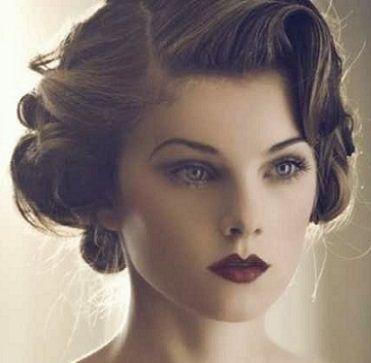 Mujer Estilo Y Belleza Peinados Retro Pelo Corto 2016 Vestidos