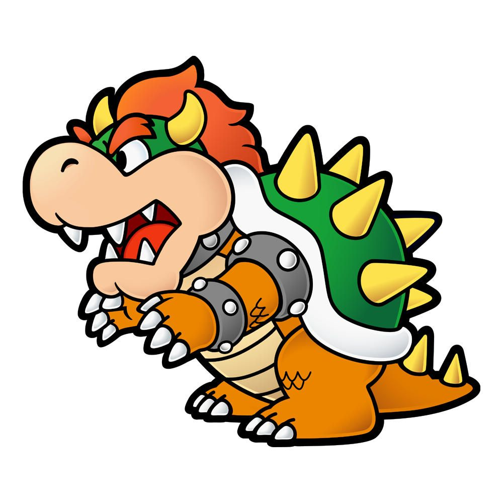 paper mario perfect for a tattoo bowser tattoos pinterest
