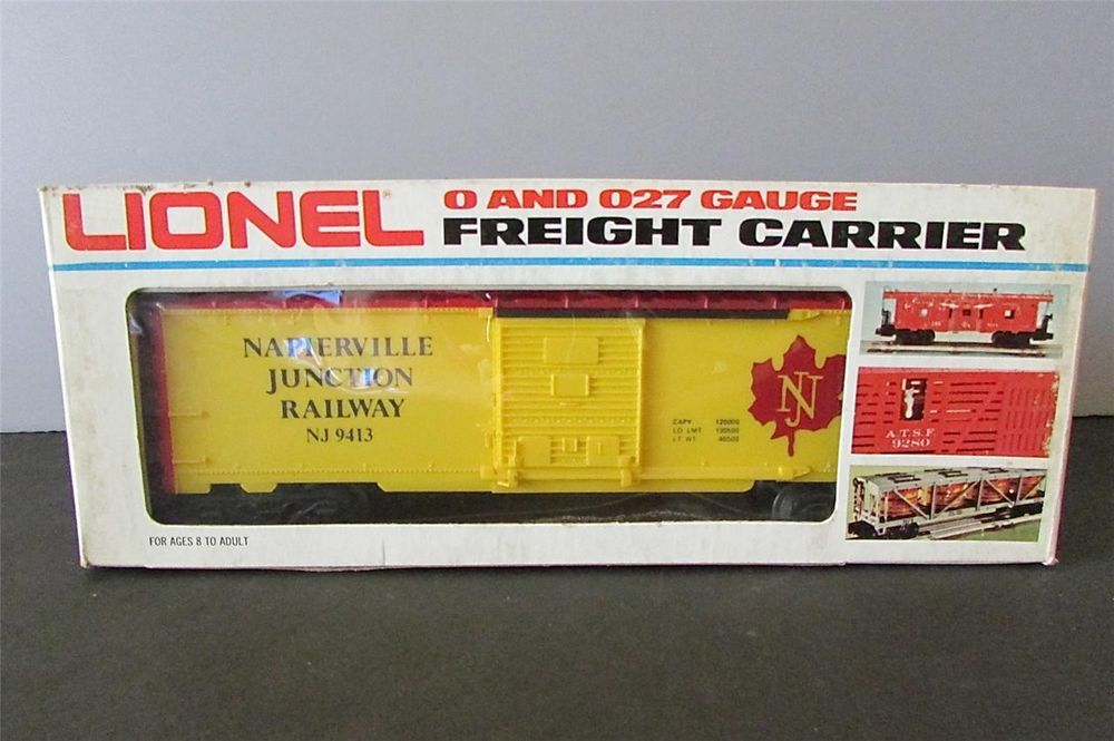 New? Lionel 6-9413 Napierville Junction Railway Boxcar 9413