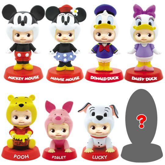 Japanese Capsule Toys : Disney gashapon capsule toys from japan vinyls