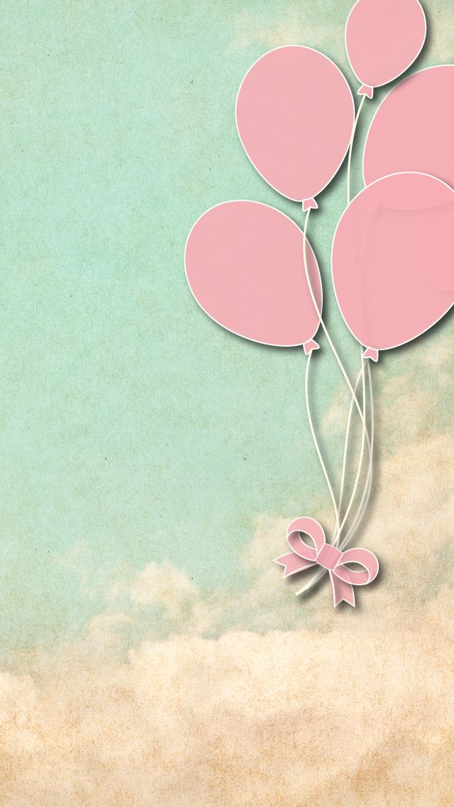 Details about Girls Room Pink Balloons Nursery Elegant
