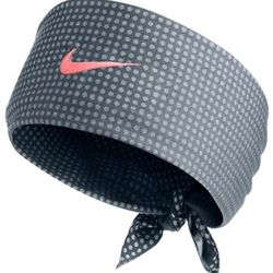Hero Nike Pink Swoosh Bandana  As worn by Rafa Nadal in the 2013 US Open