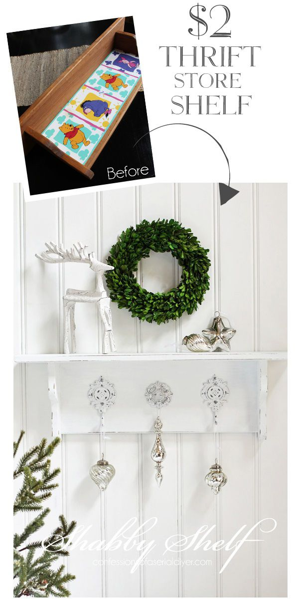 Photo of Simple Shabby Shelf