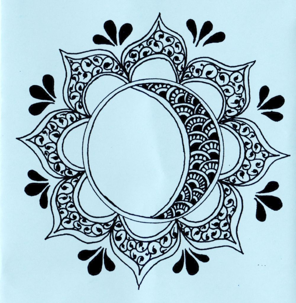 Tattoo Stencils Printable Moon: Lotus Henna Tattoo Stencils - Bing Images
