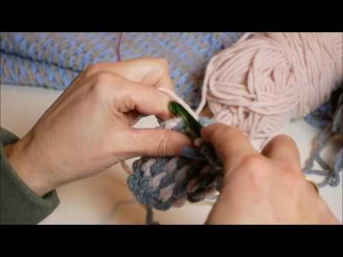 Workshop Tunisch Haken De Pingo Crochet Rose Sjaal Youtube