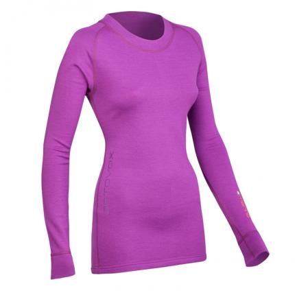 #ORTOVOX# merino 240 Fleece Jersey made from 100% merino #wool. Warming sportswear with soft terry cloth inner and flat sewn seams for added comfort.  An excellent part of any layering system! http://www.merinooutlet.com/women/tops/ortovox-merino-240-ls/?colour=25 #merinowool
