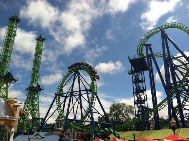 The Latest Addition To Six Flags New England Goliath