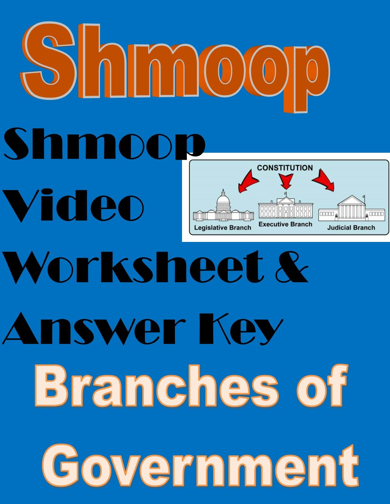 Branches Of Government Shmoop Video Worksheet Government