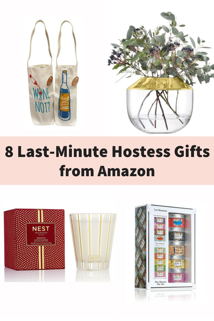 8 last minute hostess gifts from amazon prime instead of showing up empty
