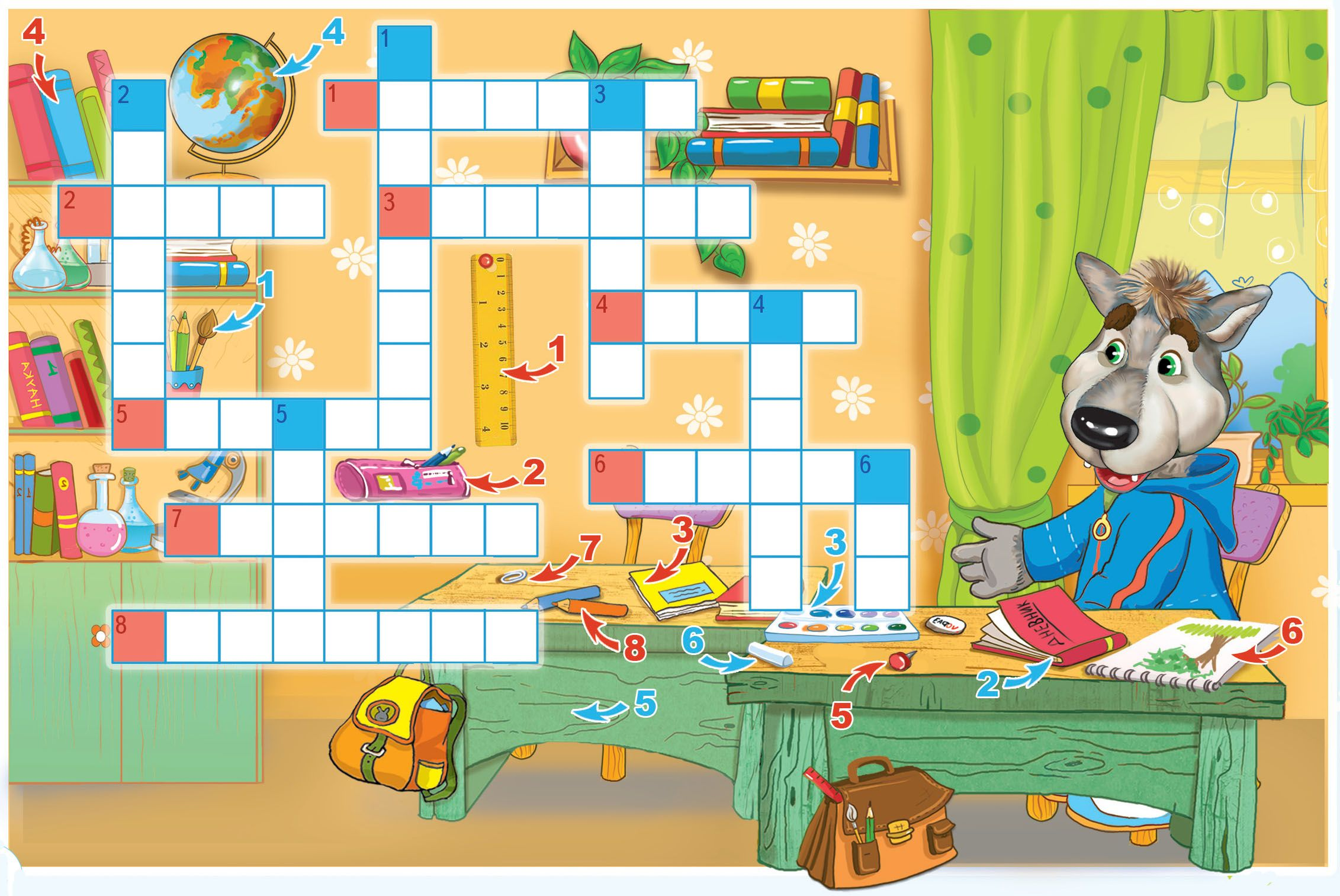 Картинка для, картинки с кроссвордами для детей