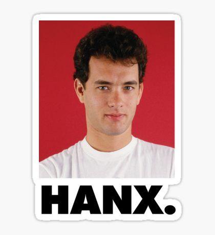 Tom Hanks Pegatina