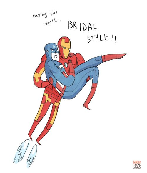 gingerhaze:    read some comics last night, have I mentioned lately how much I love superheroes carrying other superheroes?