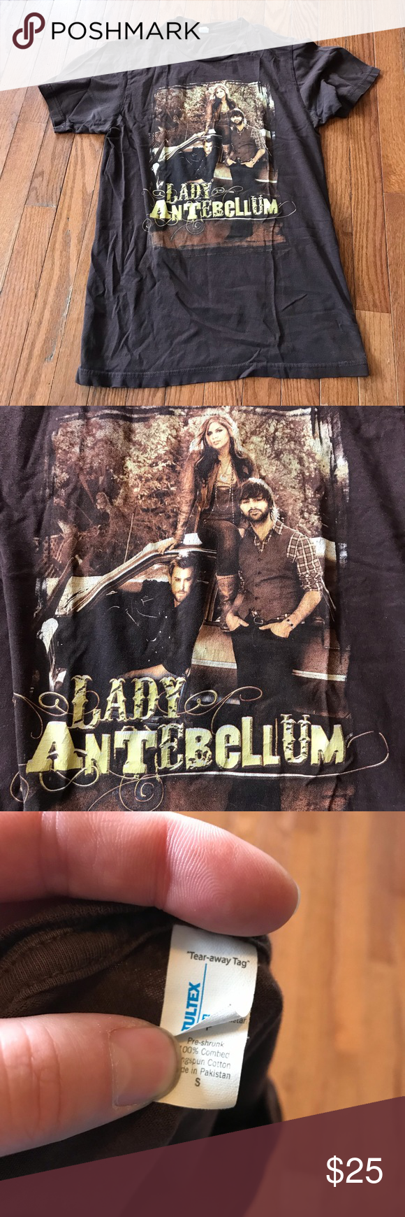 Lady Antebellum Concert Tee Size Small There are no rips