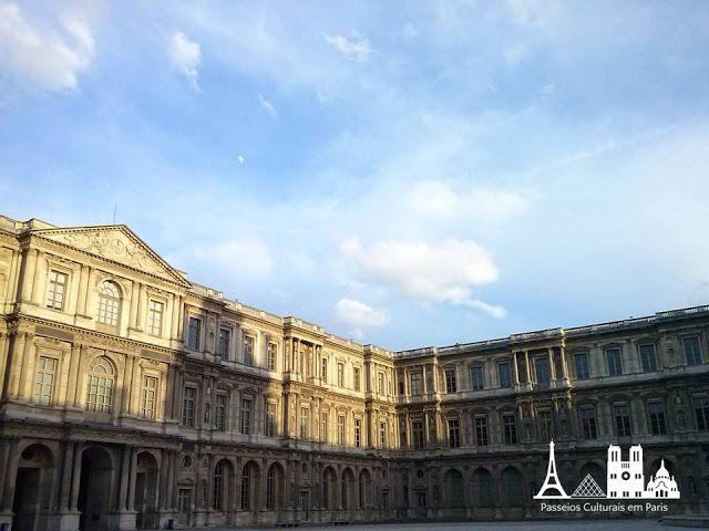 Passeios Culturais em Paris: Cour Carrée do Palais du Louvre
