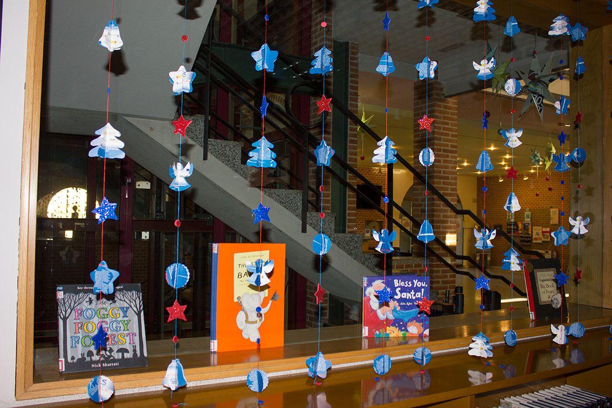 Decoracion navidad 2013 reciclando gu as de lectura y - Decoracion navidad infantil ...
