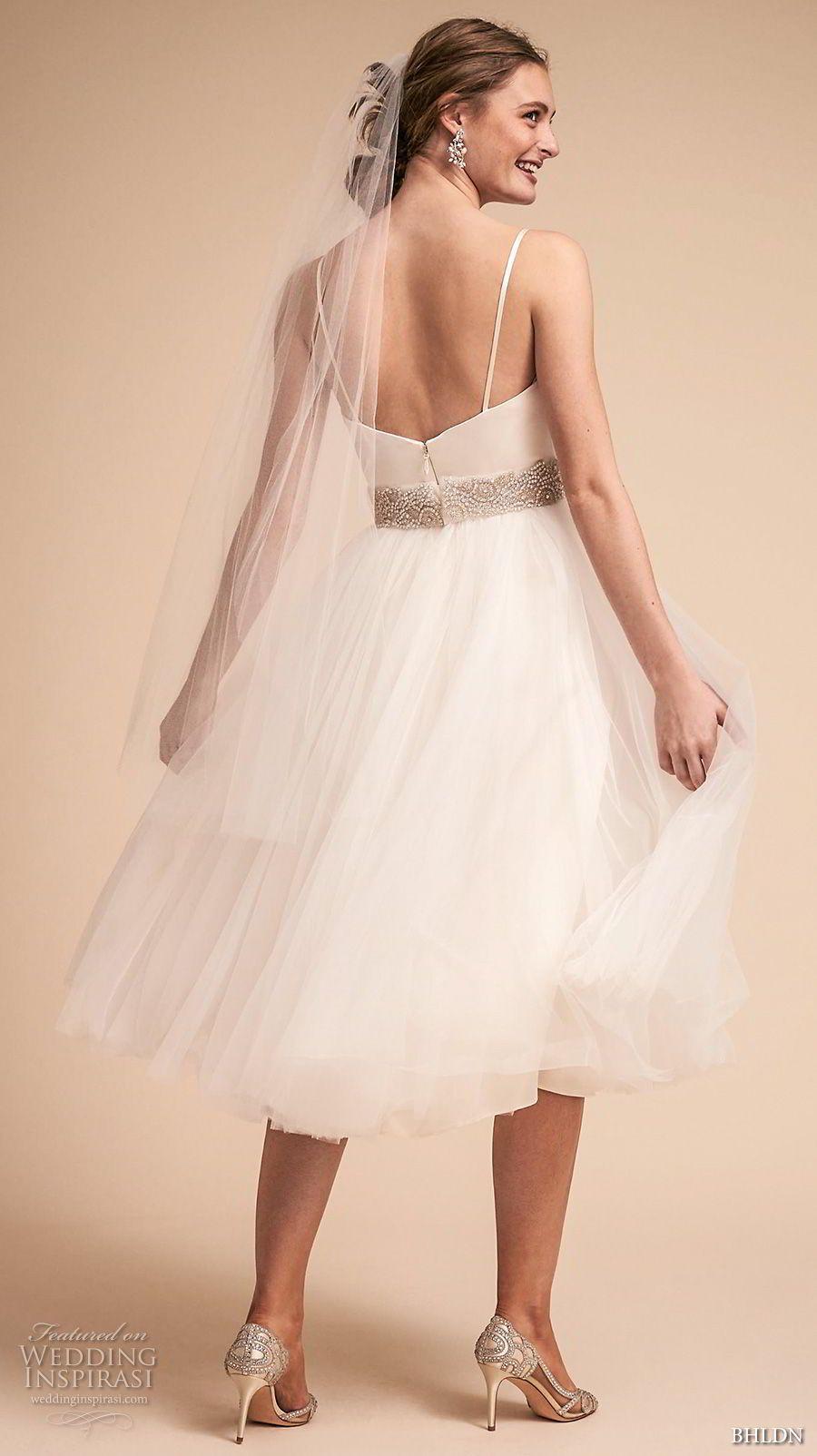 BHLDN Spring 2018 Wedding Dresses | Pinterest | Short wedding ...